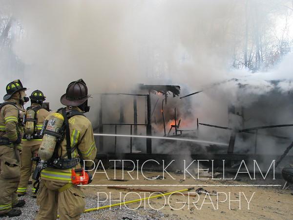 Roach Hollow Road House Fire - Catoosa County, GA