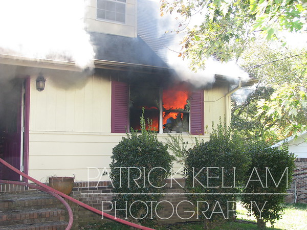 Townsend Circle House Fire - Catoosa County, GA