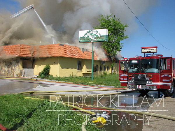 Cancun Restaurant Commercial Fire - Chattanooga, TN