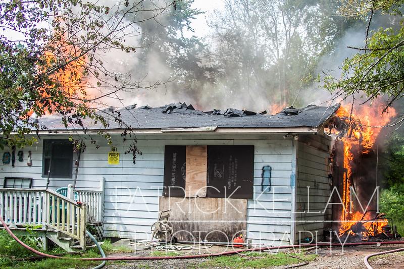 Catoosa Parkway House Fire - Catoosa County, GA