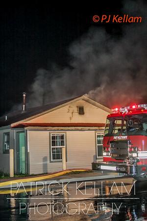 Cross Street Abandoned House Fire - Fort Oglethorpe, GA