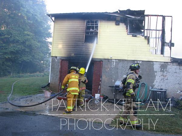 Grasshopper Road House Fire - Birchwood, TN