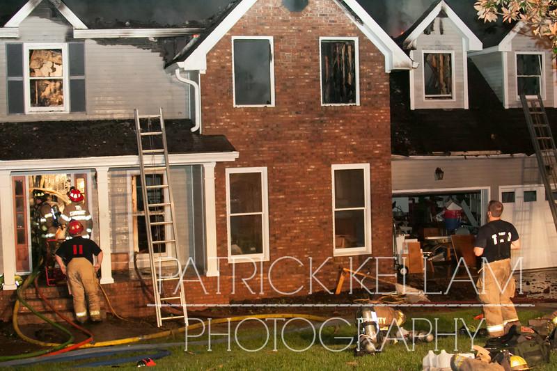 Hidden Shadows Drive House Fire - Hamilton County, TN