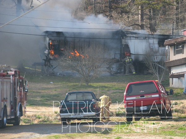 Nunley Lane House Fire - Catoosa County, GA