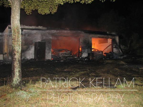 Ooltewah Georgetown Road Garage Fire