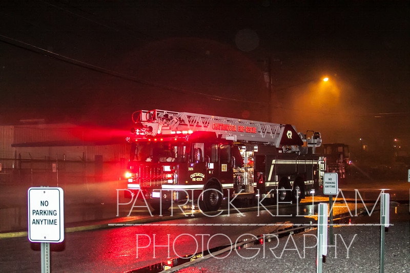 Polymer Drive Commercial Fire - Chattanooga, TN