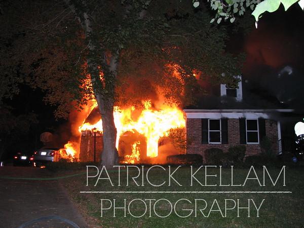 Ray Jo Circle House Fire - Hamilton County, TN