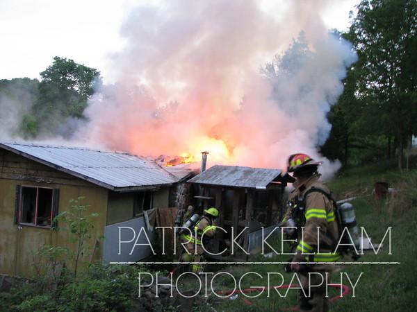 Standifer Gap Road House Fire - Hamilton County, TN