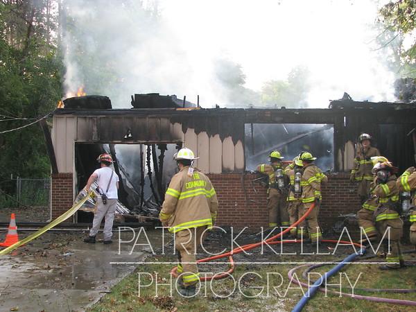 Sylar Drive House Fire - Ooltewah, TN