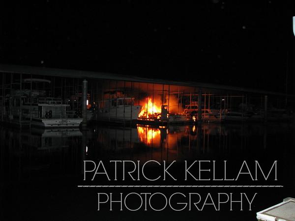 Harrison Bay State Park - Multiple Boat Fire - Harrison, TN