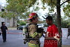 Chattanooga, TN firefighters responded to an apartment fire on the third floor of an apartment building on Hickory Valley Road. Firefighters put a quick knockdown on the fire and rescued a small dog in the process.
