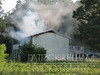 Catoosa County, GA firefighters put a quick hit on an attic fire in a house on Moore Road.