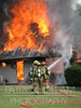 Tri Community (TN) firefighters fought hard against not only the large amount of fire in this house on Point South Lane, but also against very steep terrain and a lack of available water.