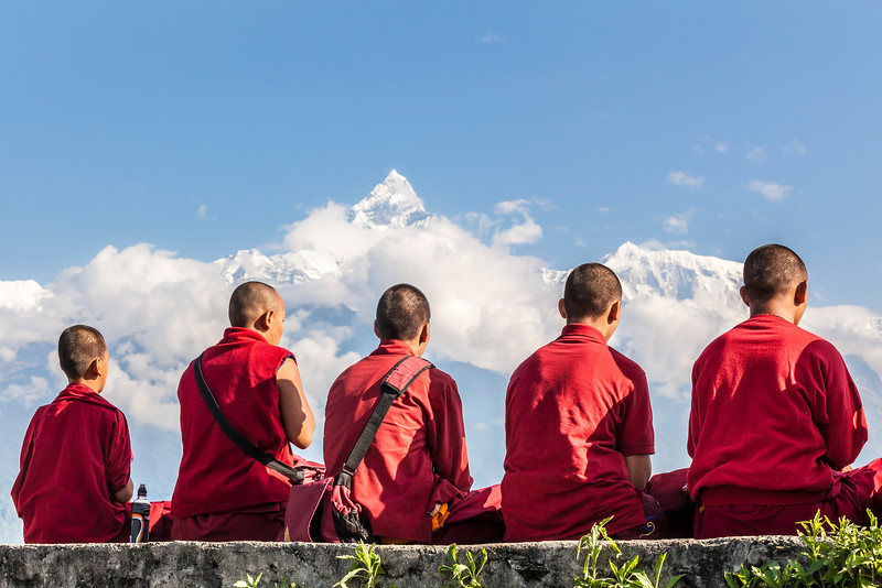 Annapurna Monks
