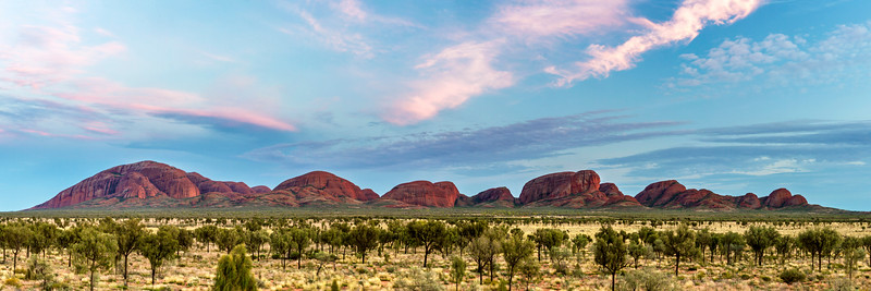 Kata-Tjuta at Dawn