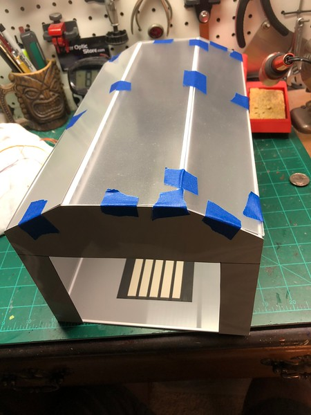 Roof panels made...