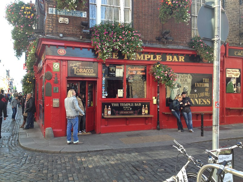 Temple Bar, Boys' Weekend, Dublin, 2012