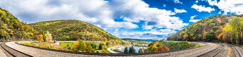 Horseshoe Curve Panorama