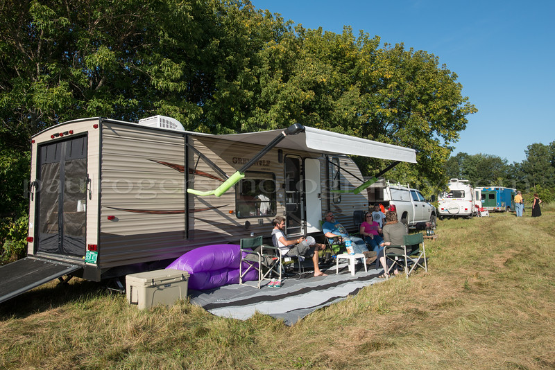 RV'ers in the Camping Field
