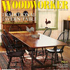 American Woodworker Magazine Cover Featuring Matthew Burak Furniture