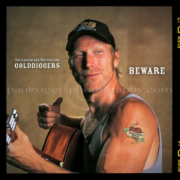 Rusty DeWees on Golddiggers Beware Album Cover