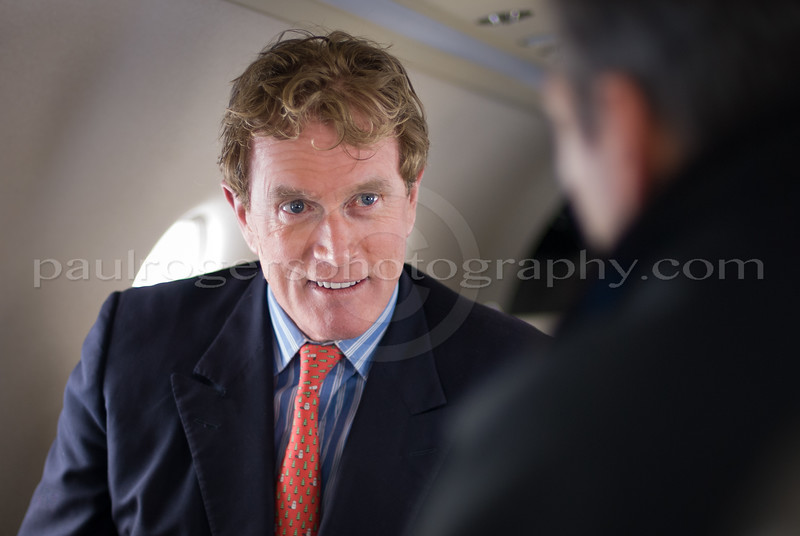 Dr. Bob Arnot on a Pilatus PC12, for Private Air Magazine
