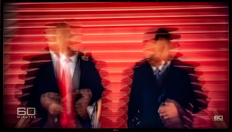 Presidents Trump and Xi in Beijing (Nine News/60 Minutes Australia)