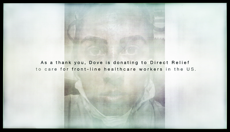 Beauty Industry Commercial in Support of 'Direct Relief' Charity (CBS)
