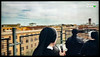 A Group of Nuns sing the Nome Dolcissimo on a Rooftop in Rome (Apostole del Sacro Cuore di Gesu via USA Today)