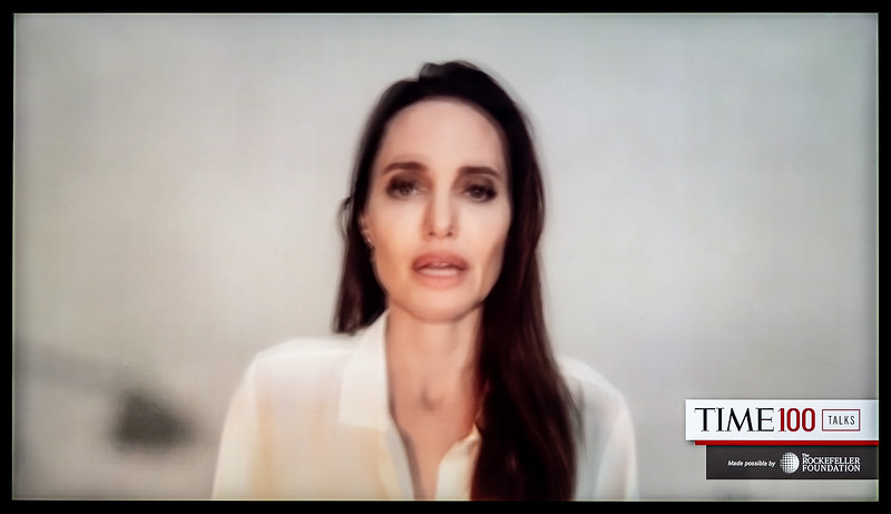 Angelina Jolie, Special Envoy of the U.N. High Commissioner for Refugees (TIME)