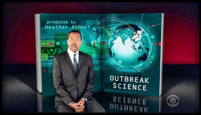 Story on 'Outbreak Science' (CBS)