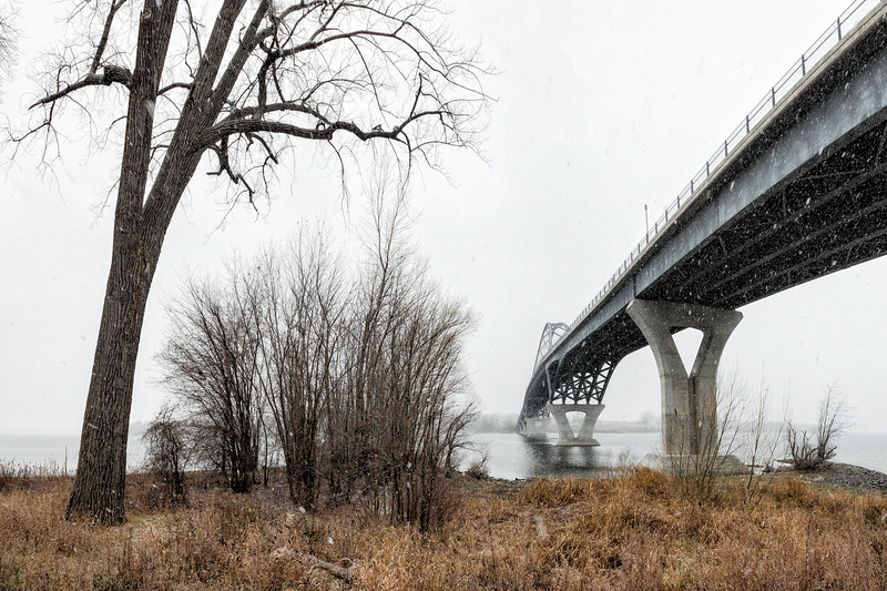 Champlain Bridge at Chimney Point, West Addison, 2017