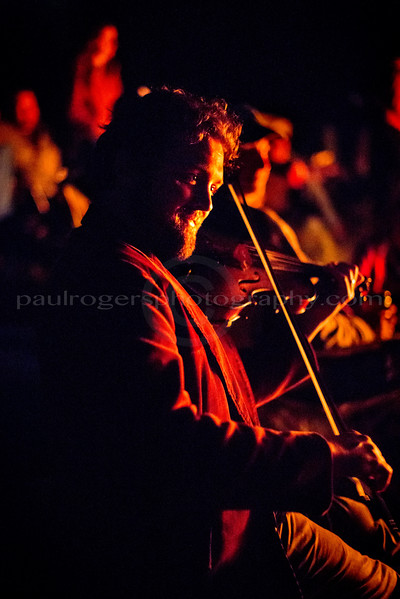 Patrick Ross in the Fiddle by Firelight