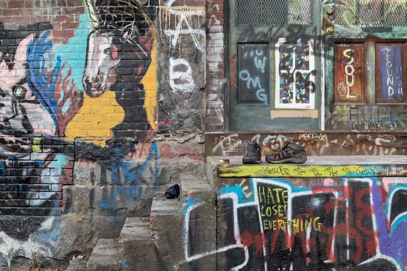 Urban Graffiti, Brattleboro, 2017