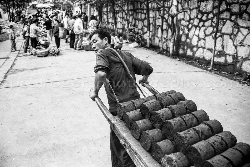 China, May 1997. Coal Family.