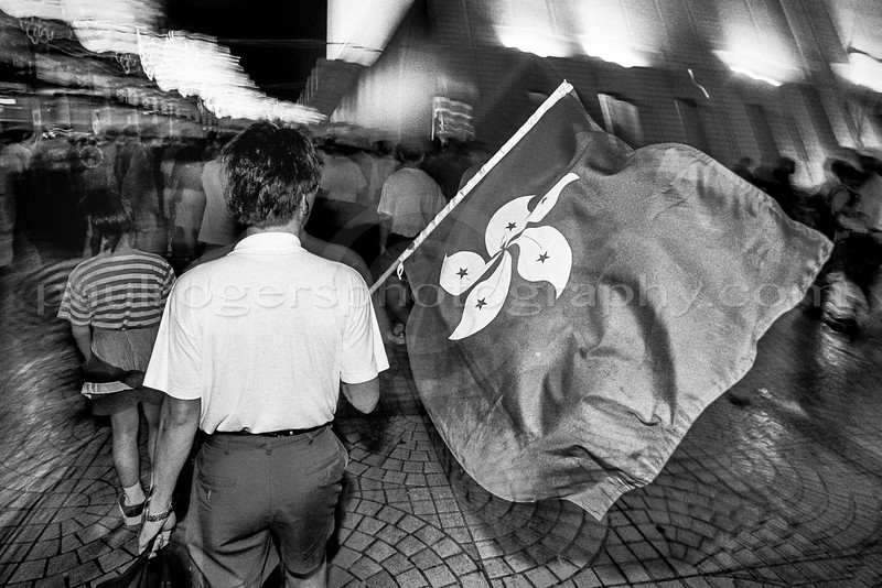 Hong Kong Handover. June 30 - July 1, 1997.