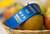 Prize-winning apples at Tunbridge Worlds Fair, Tunbridge, VT