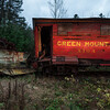 Railroad Car, East Barnet, 2010