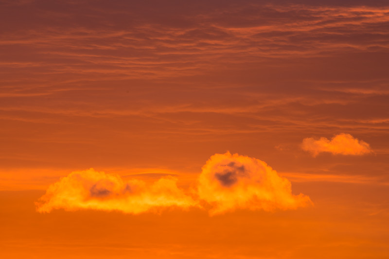 Clouds at Sunrise #2, Stowe, 2014