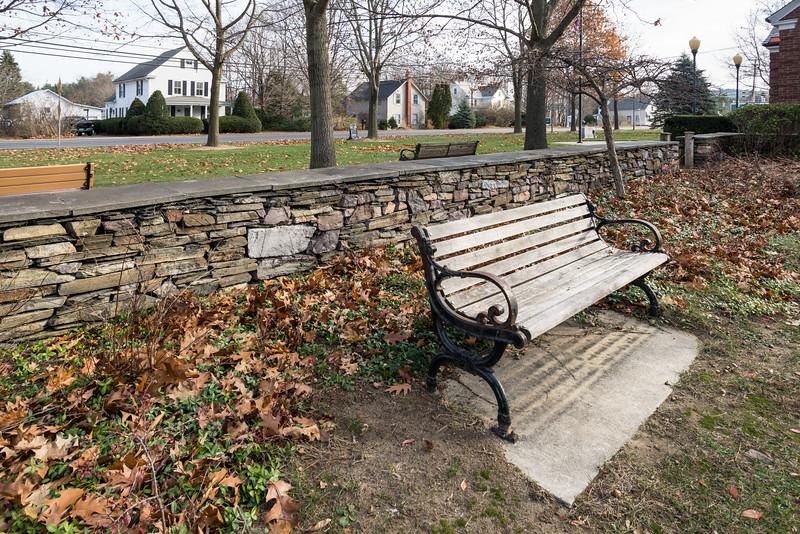 Park Bench, Colchester, 2014