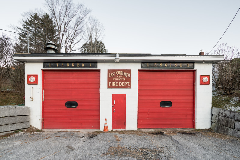 Firehouse, East Corinth, 2014