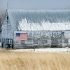 Barn with American Flag, North Hero, 2014