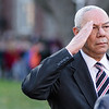 General Colin Powell at Norwich University, Northfield, 2014