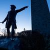 Battle Monument at Dawn, Old Bennington, 2014