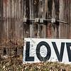 Love Sign, Pownal Center, 2014