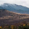 Mount Mansfield in Clouds, South Cambridge, 2014