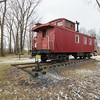Central Vermont Railway Caboose #4009, Swanton, 2014
