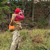 Taking Aim at a Hen Pheasant, Elmore, 2014