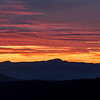 Mount Mansfield at Sunset, Hardwick, 2016