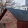 Barn and Church Steeple, Peacham, 2016